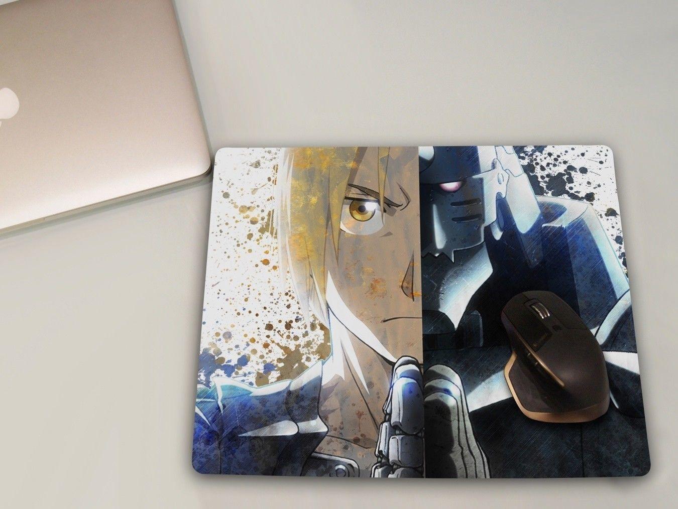 Fullmetal Alchemist Anime Mousepad Large Gaming Mouse Mat