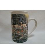 Thomas Kinkade Holiday at Spring Gate 2008 Collectible Coffee Mug Tea Cu... - $24.99