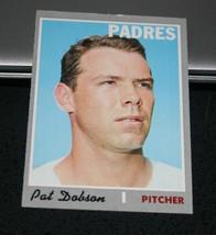 1970 Topps Baseball Card #421 Pat Dobson - $2.96