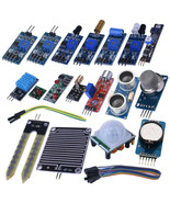 16 Pcs Arduino Sensor Modules Kit Set Projects Learning Student UNO R3 N... - $53.46