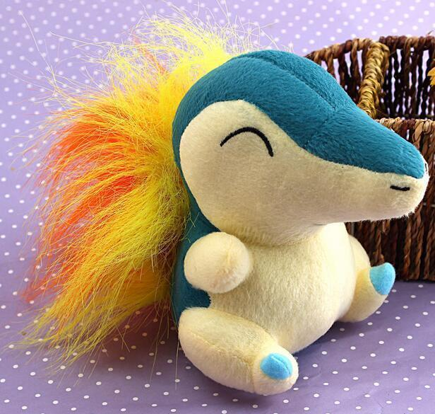 "Primary image for Pokemon Plush Toy Cyndaquil 6"" Collectible Nintendo Game Stuffed Animal Doll"