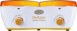 GiGi Deluxe Double Hair Removal Wax Warmer, 14 oz