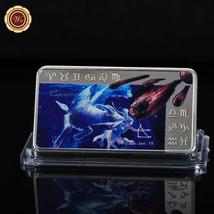 WR Capricorn Zodiac 999 Silver Art Bar Constellation Collection Love Gif... - $4.88