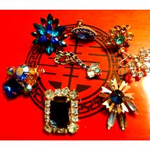 Rhinestone Earrings~Make GREAT PENDANTS - $22.77
