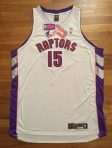 BNWT Authentic 2002-03 Nike Toronto Raptors Vince Carter Home White Jers... - $499.99