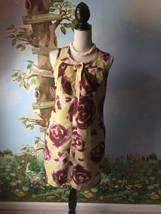 Simply Vera Women's Multi-color Sleeveless Dress SZ 6 - $24.74