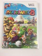 Wii Mario Party 8 2007 Nintendo Case Manual Disk - $37.62