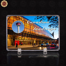 WR Wonders of Canada Calgary Tower World Canadian Silver Coins /w Displa... - $7.60