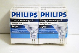 Philips 30W 12V Ir MR16 NFL24 GU5.3 Halogen Light Bulb (2 Pack) - $9.47
