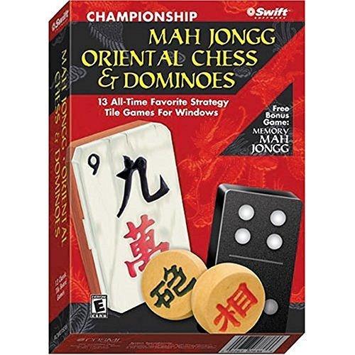 COSMI Championship Mah Jongg, Oriental Chess & Dominoes (Windows) [video game]