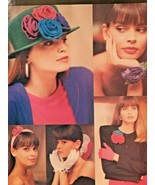 Butterick Sewing Pattern 6654 Flowers and Bows Accessories Uncut Gifts - £4.70 GBP