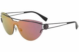 Versace Women's VE2186 VE/2186 14156Q Violet Fashion Cat Eye Sunglasses 38mm - $386.10