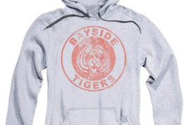Bayside Tiger's saved by the Bell Retro 80's teen sitcom graphic hoodie NBC143 image 3