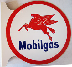 "Mobilgas Flange Sign 19"" Wide by 18"" Tall - $99.95"