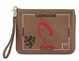 Rebecca Minkoff Travel Pouch Wristlet Leather London ~Nwt - $44.55