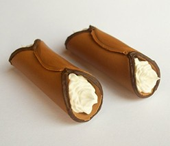 Cannoli Dessert Treat Set of 2 - Perfect for 18 Inch American Girl Dolls - $9.99