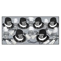 The Top Hats and Tails Party Kit For 50 People For New Year's Eve - $189.58