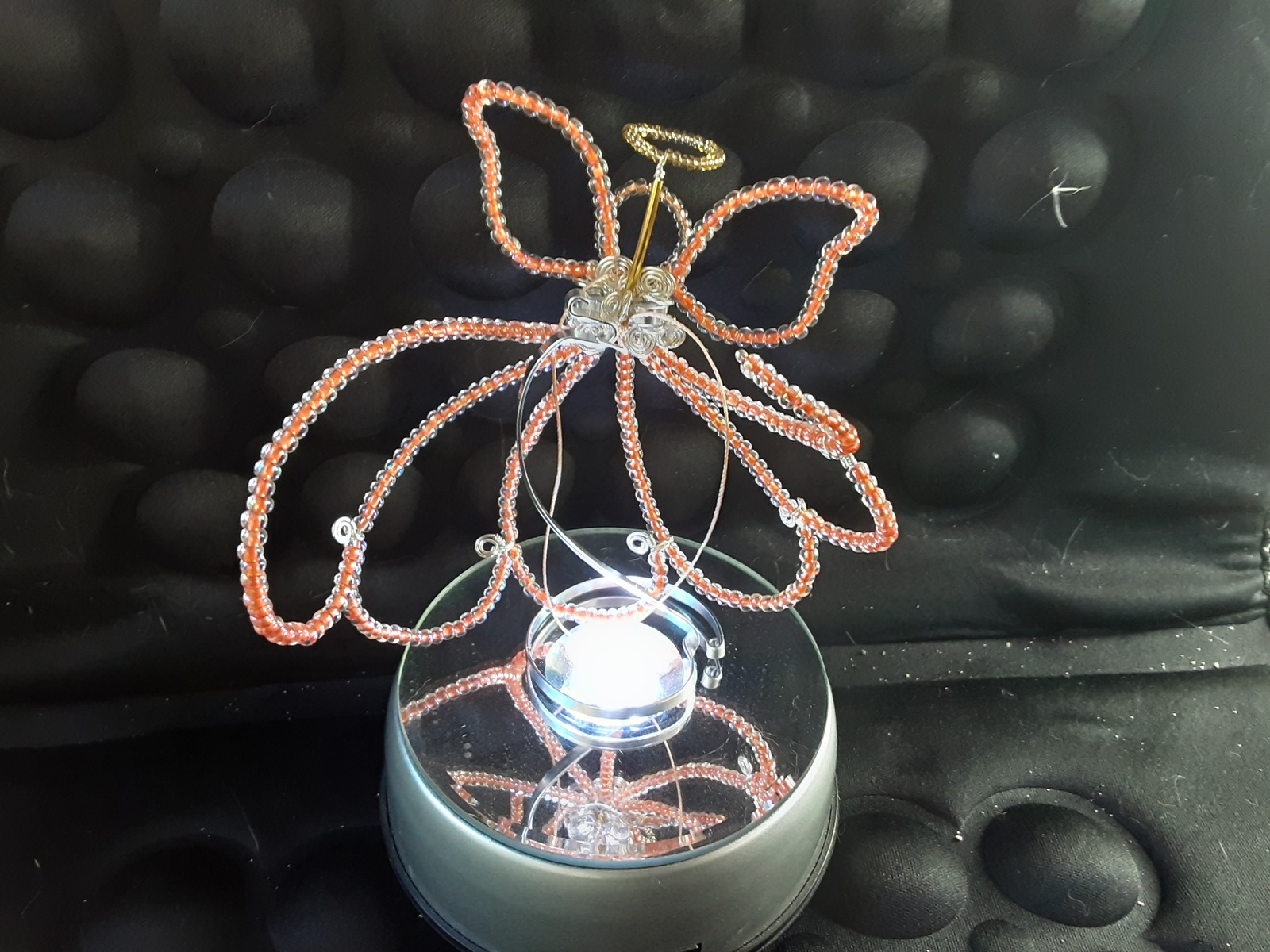 Angel Sun-catcher Ornament (hand-crafted, one-of-a-kind) image 6