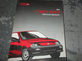 1993 Chevy Geo Metro Service Shop Repair Manual Factory Feo 93 Dealership - $100.10