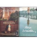Colm Toibin 2 Book Lot Brooklyn Nora Webster Paperback Ireland New York ... - £5.80 GBP