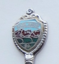 Collector Souvenir Spoon USA South Dakota Badlands Cloisonne Emblem Flut... - $4.99