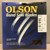 "Olson 14593 93.5"" L x 0.3"" W x 0.02"" thick Carbon Steel Band Saw Blade 6... - $16.81"
