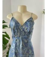 Vintage 1990's VICTORIA'S SECRET Silk Slip Chemise Nighty Lingerie Gown M Y2K - $34.64