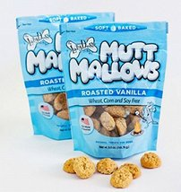 Lazy Dog Mutt Mallows Soft Baked Dog Treats Original Roasted Vanilla 5 Oz image 4