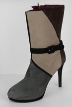 Nine West Haditall women's tall boots leather upper high wedge size 11M - $26.66
