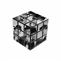Laurel & Hardy Black & White Rubik's Cube - $14.99