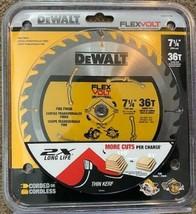 """DEWALT DWAFV3736 Flexvolt 7-1/4""""x 36 Tooth Circular Carbide Saw Blade - $14.16"""