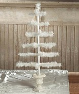 Bethany Lowe Ivory Feather German Style Spring  4th July Decor Tree, 26''H - $94.05