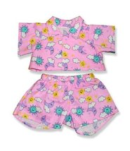 """Pink PJ's Outfit Teddy Bear Clothes Fit 14"""" - 18"""" Build-a-bear, Vermont ... - $12.86"""