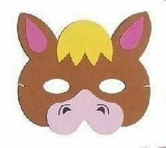 Braun Pferd Maske, Kinder Eva Schaumstoff Tier Masken, Kostüm - $1.61 CAD