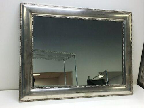 "Framed Silver Wall Mirror 23"" x 30"" Original Price $199 Rectangular Rectangle"