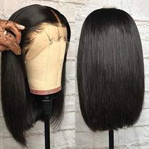 Tinashe 9A Human Hair Wigs Bob Wig Straight Hair 13x4 Lace Front Human Hair Wigs image 6
