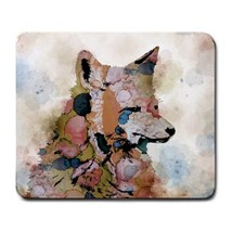 Mousepad Computer Mouse Pad electronics Fox 1 animal digital art by L.Dumas - $305,17 MXN