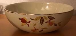 """Hall Mary Dunbar Autumn Leaf - Salad or Fruit Bowl - 9"""" - Jewel Tea  - $18.66"""