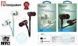 Lot 3.5mm With Microphone Bass Stereo In-Ear Earphones Headphones Headse... - $6.92