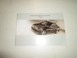2008 Mercedes Benz C-Class C Class Accessories Manual Factory Oem Book 08 Deal - $13.83
