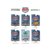 Blue Collar Collection Series 4, 6pc Set 1/64 Diecast Model Cars by Gree... - $47.20