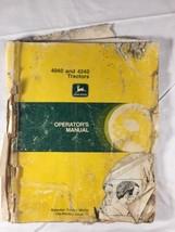 John Deere 4040 4240 Tractor Tractors Operator's Manual Owners - $28.99
