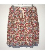 American Eagle Outfitters Womens 2 Layer Floral Skirt EUC Sz 4 - $12.64