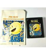 PAC-MAN Atari 2600 1982 Game CX-2646 Cartridge and Instruction Booklet O... - $8.64