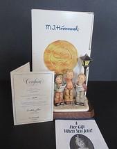 Hummel Tuneful Trio Goebel 757 with Wooden Base, Box  & COA - TMK 7 - MIB! - $149.00