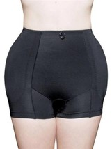 BRAND NEW WOMEN'S FULLNESS BUTT HIP PADDED ENHANCER SHAPEWEAR PANTY BLACK 8019