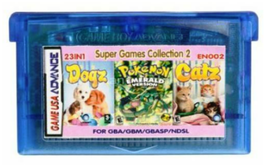 23 in 1 (B) Series  GameBoy advance GBA Video-game - $27.77 CAD