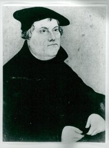 Portrait of Martin Luther - Vintage photo - $12.11