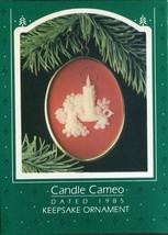 1985 - New in Box - Hallmark Christmas Keepsake Ornament - Candle Cameo - $3.95