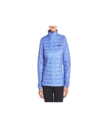 NWT PATAGONIA VIOLET BLUE QUILTED NANO PUFF PRIMALOFT FULL ZIP JACKET SI... - $100.98